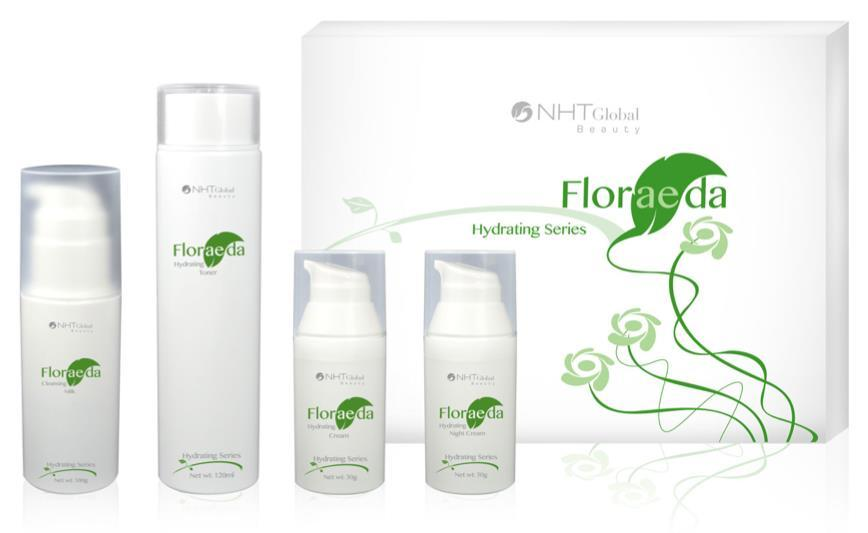 Floraeda Hydrating Series productos
