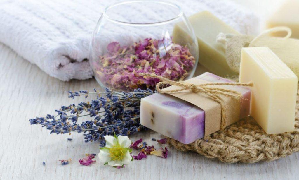 jabones naturales para la piel