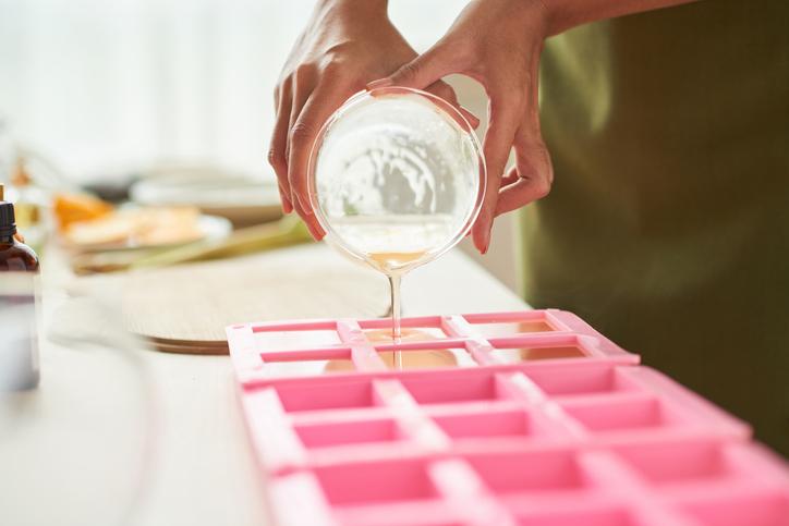 como hacer jabon liquido moldes para jabones